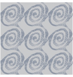 thumbprint pattern vector image