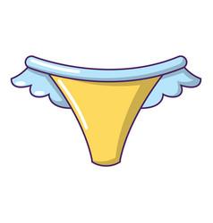 underpants icon cartoon style vector image