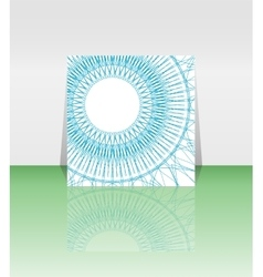 decorative guilloche rosettes you can use vector image vector image
