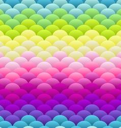Neon rainbow light blobs seamless background vector image vector image