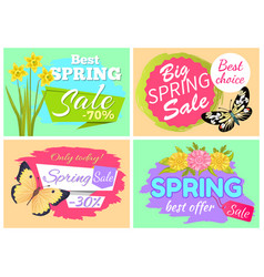 Best choice spring sle only today special offer vector