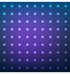 Blue abstract background with lens flare dotted vector