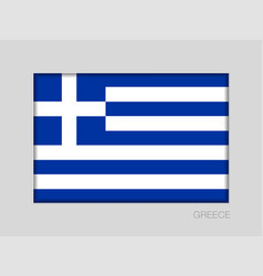 Flag of greece national ensign aspect ratio 2 to vector