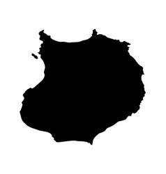 Map of boa vista vector