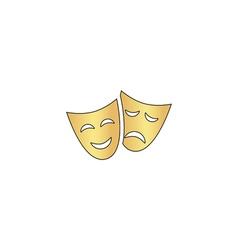 Masks computer symbol vector