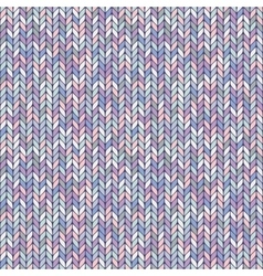 melange pastel knitted seamless background pattern vector image