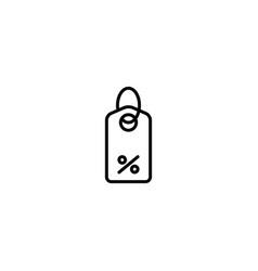 price discount icon vector image