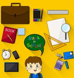 Student gear vector image