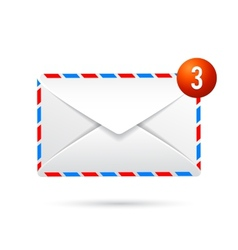 Three messages by email vector