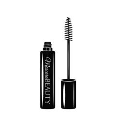 Mascara Eye Makeup The Beauty Industry vector image