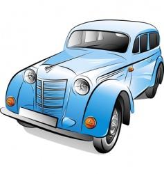 retro car illustration vector image vector image