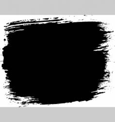 grunge paint block vector image