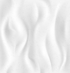 background of white cloth vector image vector image