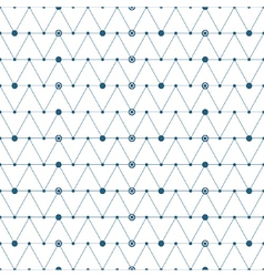 Abstract triangles pattern background vector image