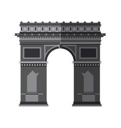Arc de triomphe icon image vector