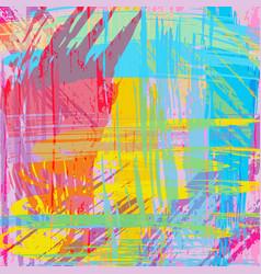 graffiti beautiful abstract background vector image