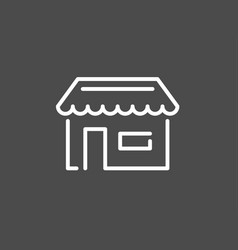 groceries icon sign symbol vector image