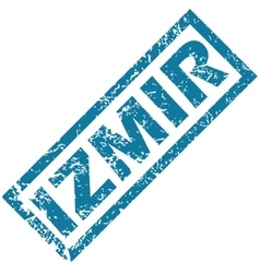 Izmir rubber stamp vector