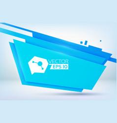 material design blue background vector image
