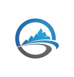 Mountains Logo vector