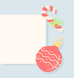 New year greeting post template for social media vector