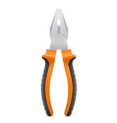 tool pliers 01 vector image