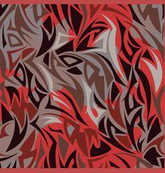 multilayer maori style seamless pattern vector image