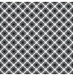 rhombus seamless pattern black-and-white vector image vector image