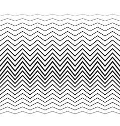 Zigzag pattern vector image