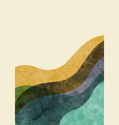 abstract contemporary aesthetic background with vector image