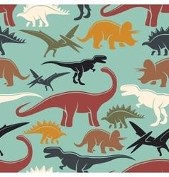 Dinosaur seamless pattern vector