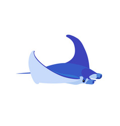 Flat cartoon animal clip art vector