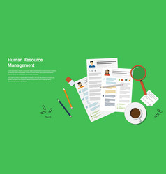 Human recource management vector
