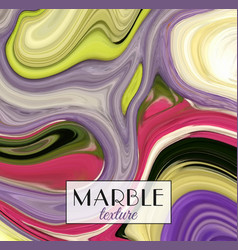marbling marble texture artistic abstract vector image