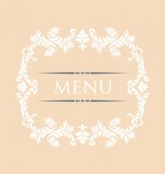 menu 28 vector image