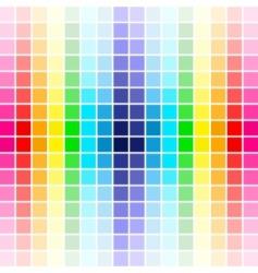 palette rainbow colors vector image