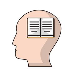 Profile head book knowledge vector