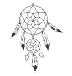 The Dreamcatcher vector image