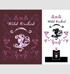 Wild Orchid vector