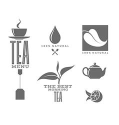 Tea Set vector image vector image