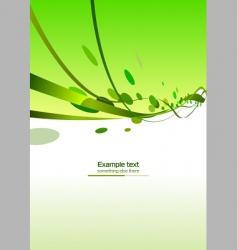 abstract ribbons header vector image vector image