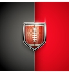 Premium Template of US Football vector image vector image
