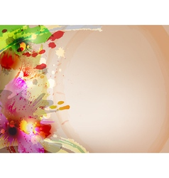 watercolors vector image vector image