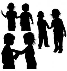 children's games vector image