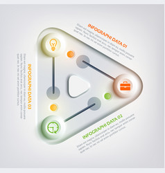 Abstract web business infographics vector