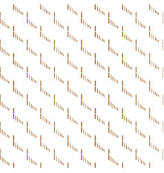 abstract white and gold seamless texture vector image