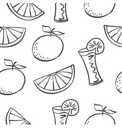 Art drink theme doodles vector