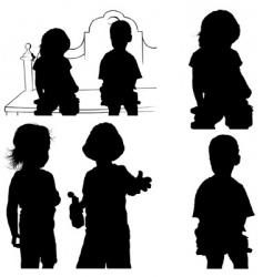 Children's games vector