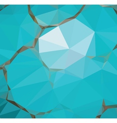 Colorful Geometric Abstraction vector image
