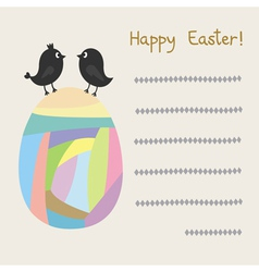Happy Easter3 vector image